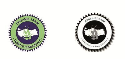 Organik gıda logolar
