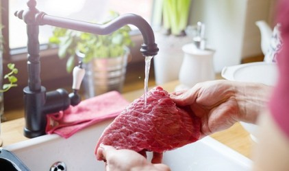 Etin yıkanması