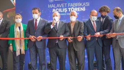 Halavet yeni fabrika açılı�ı