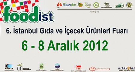 Türk gıda ve içecek sektörü istanbul da foodist 2012